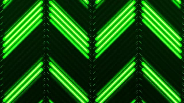 Ascending Florescent VJ Background: Stock Motion Graphics