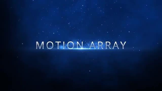 Inspirational Trailer 3D Titles: After Effects Templates