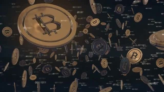 Bitcoins: Stock Motion Graphics