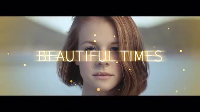 Beautiful Times: After Effects Templates