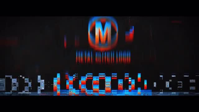 Metal Glitch Logo: After Effects Templates