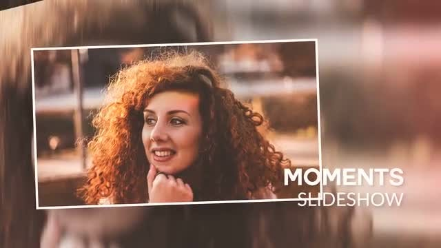 Moments Slideshow: Premiere Pro Templates