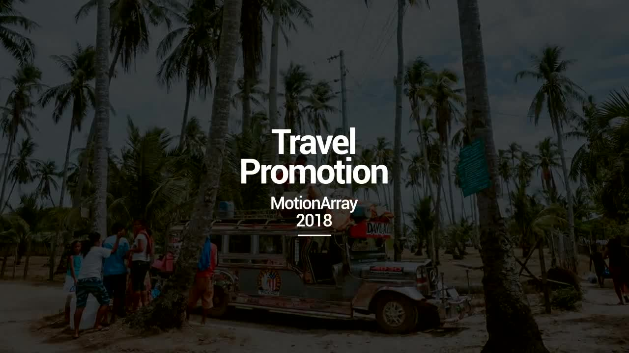 Travel Promotion - After Effects 83541 - Free download
