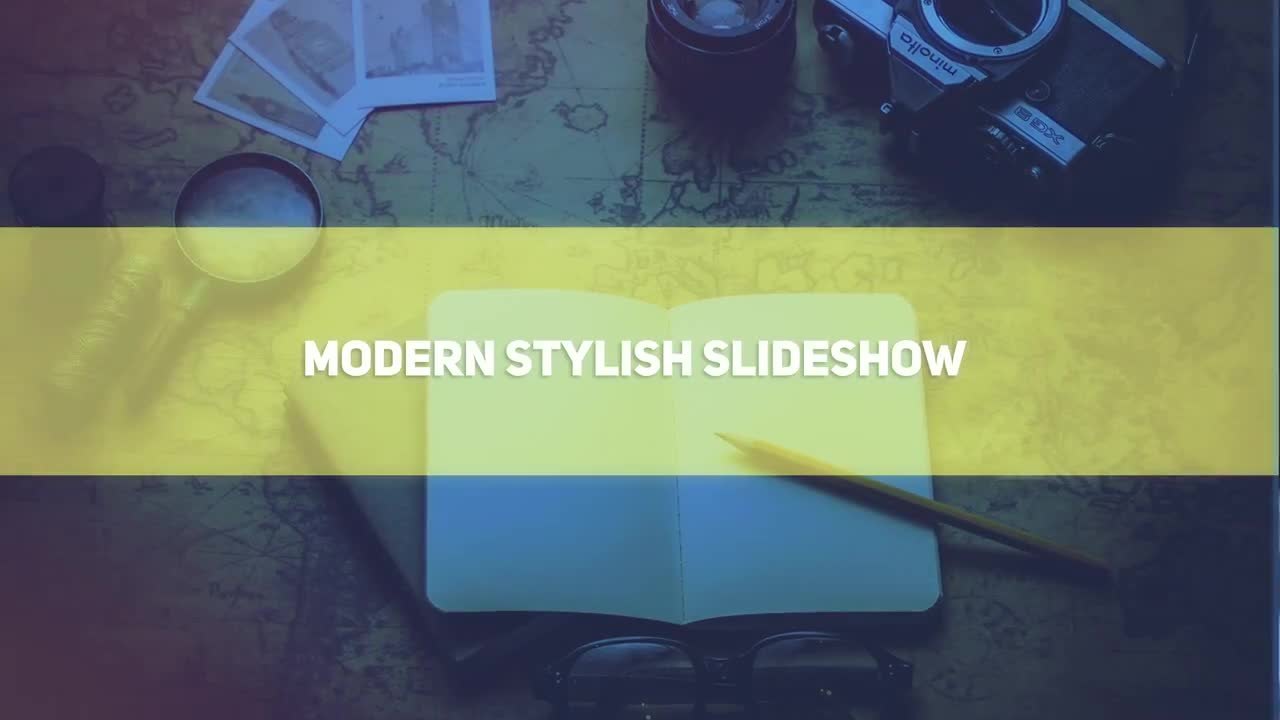 Modern Stylish Slideshow - After Effects 83573 - Free download