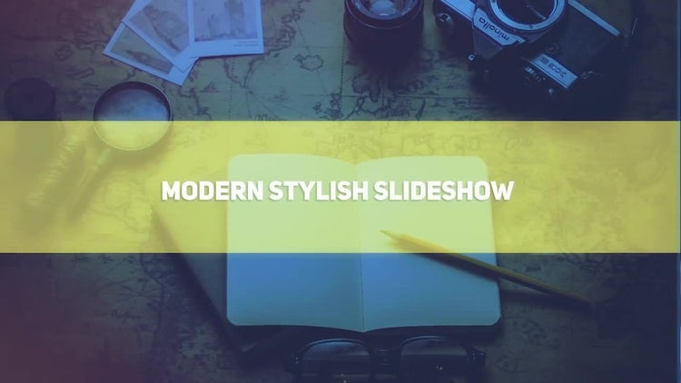 Modern Stylish Slideshow: After Effects Templates