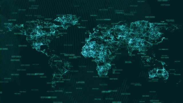 A connected world: Stock Motion Graphics