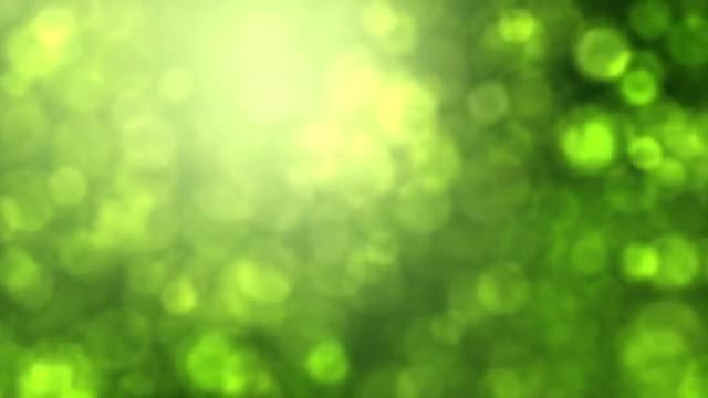 Green Bokeh: Stock Motion Graphics