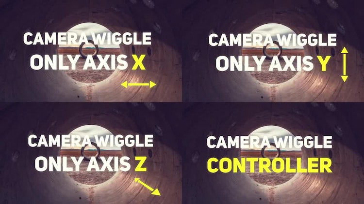 Camera Wiggle Controller: After Effects Templates