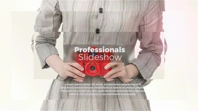 Professionals Slideshow 2: After Effects Templates