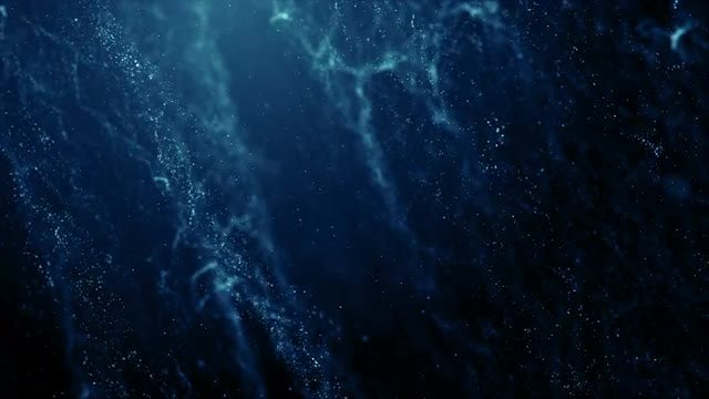 Blue Particle Columns Background: Stock Motion Graphics