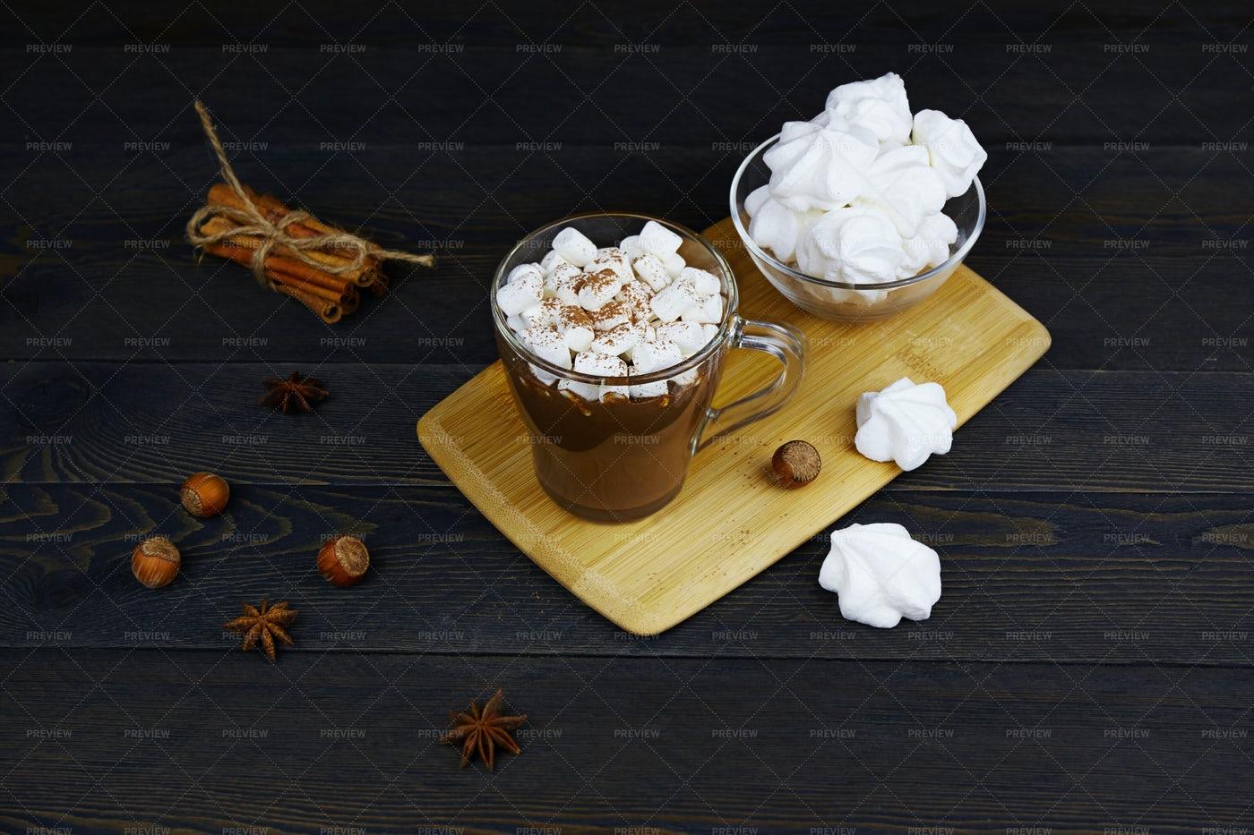 Cup Of Hot Chocolate: Stock Photos