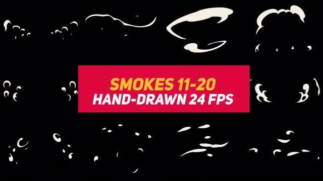 Liquid Elements 2 Smokes 11-20: Stock Motion Graphics