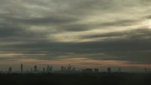 Time Lapse Of City Sunrise : Stock Video