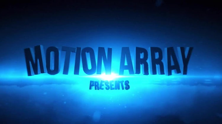 Action Cinematic Intro: After Effects Templates