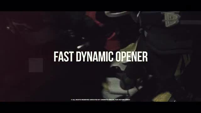 Fast Dynamic Opener: Premiere Pro Templates