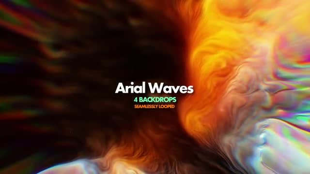 Cloud Waves Pack: Stock Motion Graphics