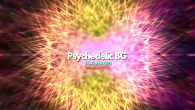 Psychedelic Background Pack: Stock Motion Graphics