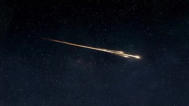 Asteroid Streaking Through Atmosphere Pack: Stock Motion Graphics