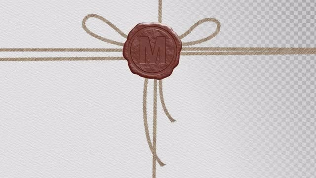 Wax Seal Template: After Effects Templates