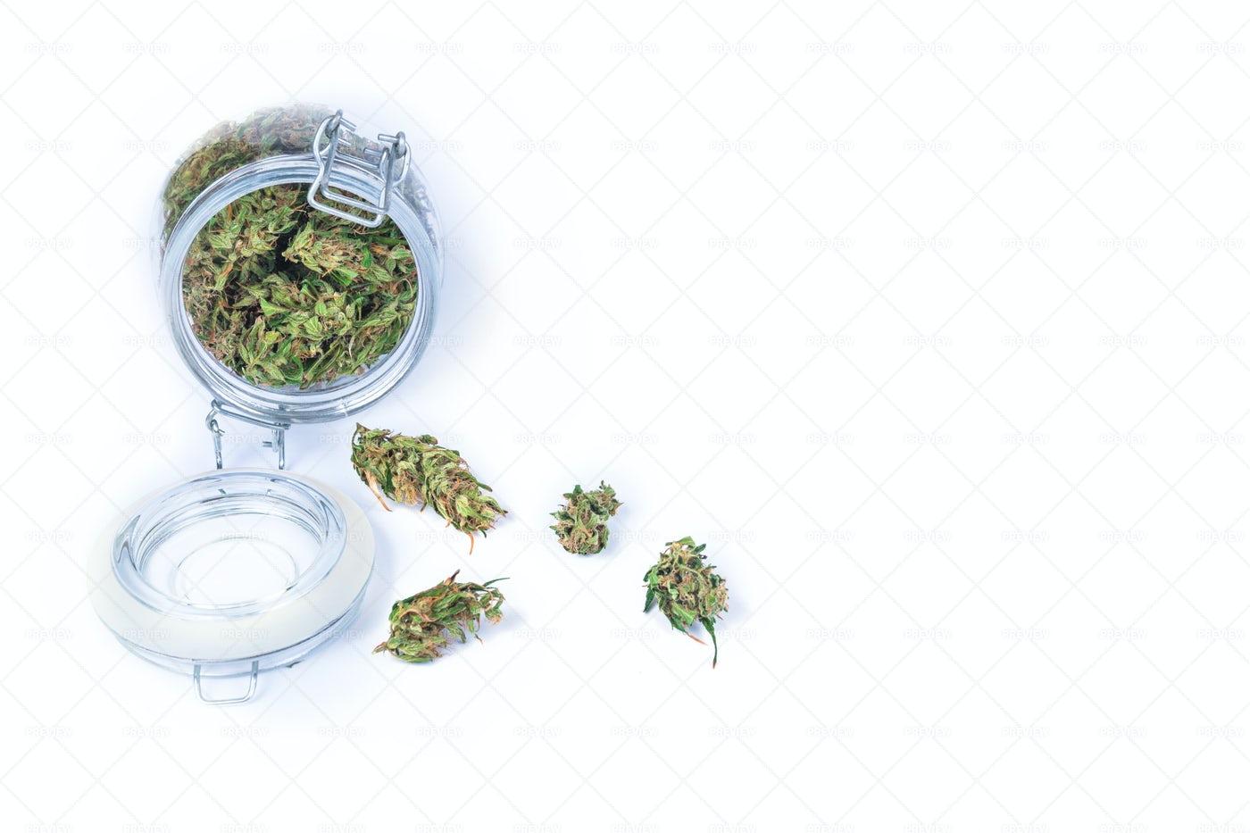 Cannabis Buds: Stock Photos