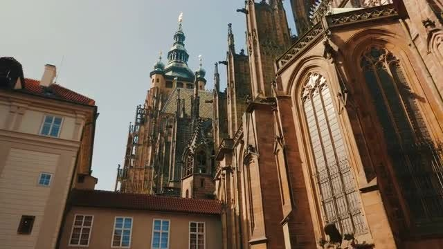St Vitus Cathedral : Stock Video