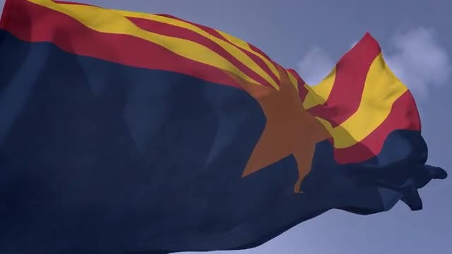 Arizona Flag: Stock Motion Graphics