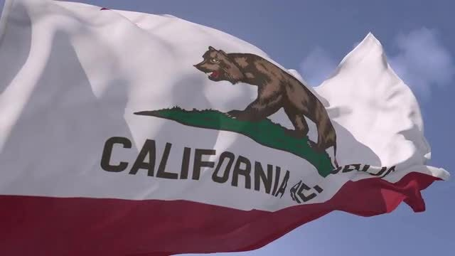 California Flag: Stock Motion Graphics