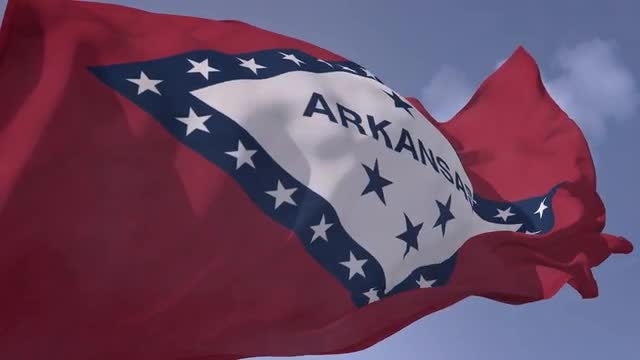 Arkansas Flag: Stock Motion Graphics