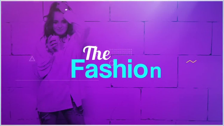 The Fashion: After Effects Templates