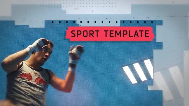 Fighting Alley: After Effects Templates