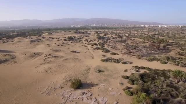 Desert Aerial View : Stock Video