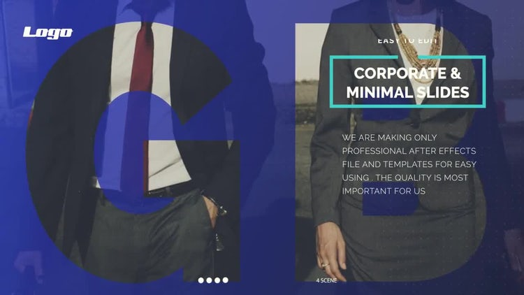 Corporate & Minimal Slideshow #2: After Effects Templates
