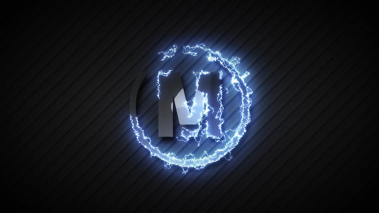 Electric Logo Build: After Effects Templates