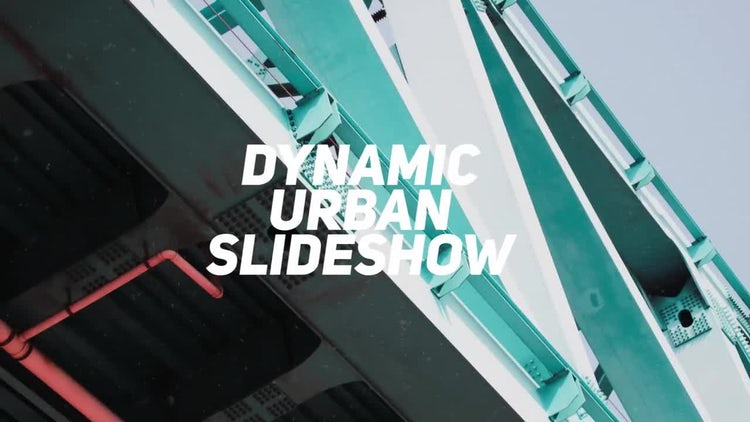 Dynamic Urban Slideshow: Premiere Pro Templates