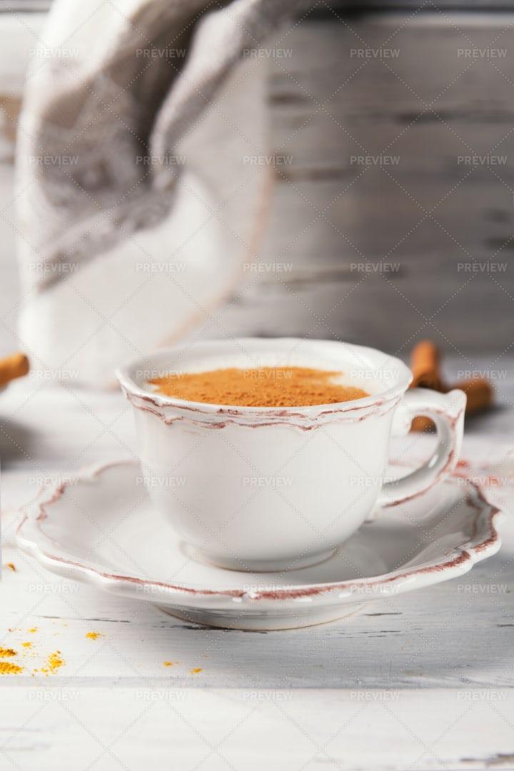 Cup Of Masala Tea: Stock Photos