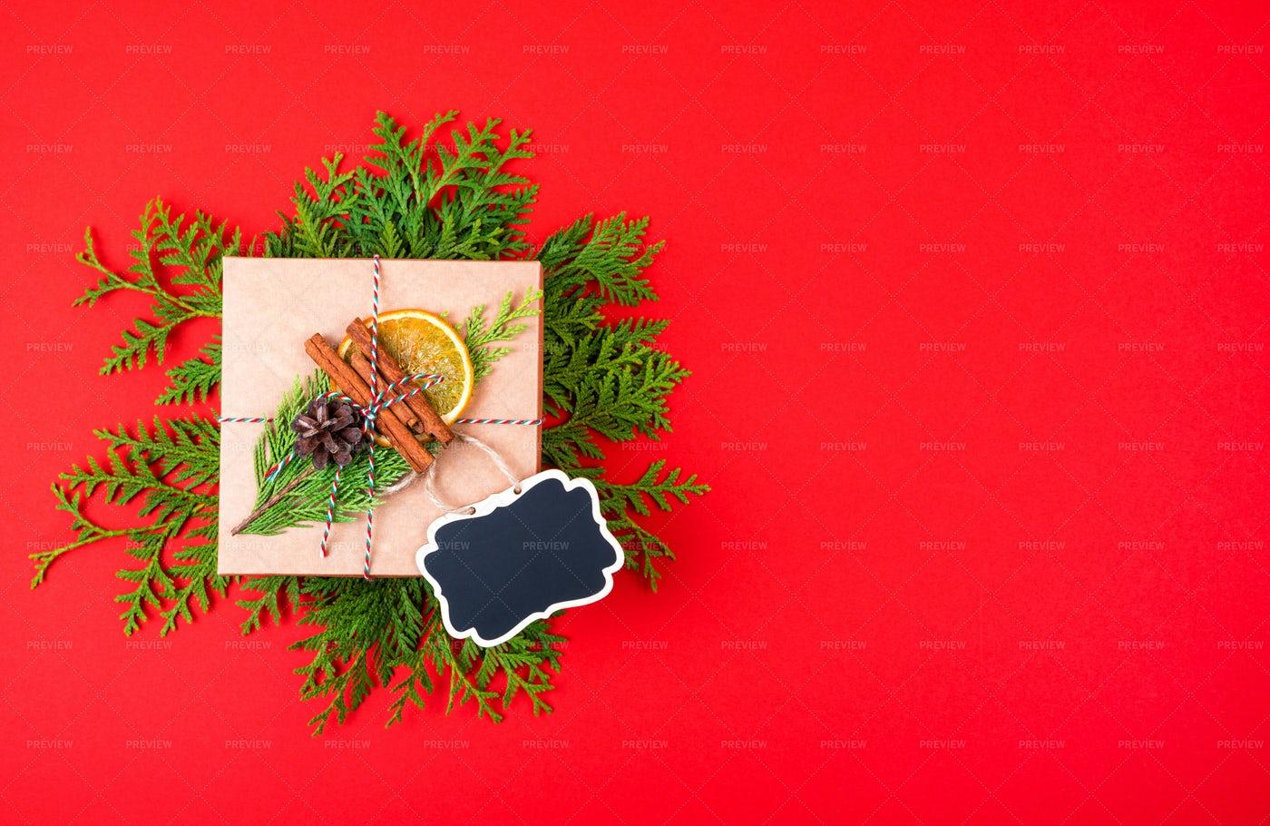 Eco Christmas Gift: Stock Photos