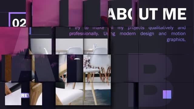3D Cube Corporate: After Effects Templates