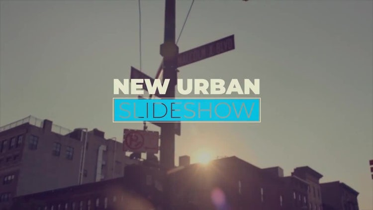 New Urban Slideshow: Premiere Pro Templates