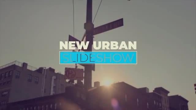 New Urban Slideshow: Premiere Pro Templates