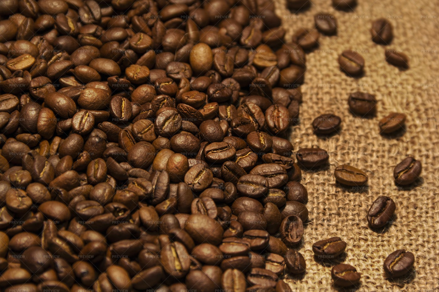 Aromatic Coffee Beans: Stock Photos