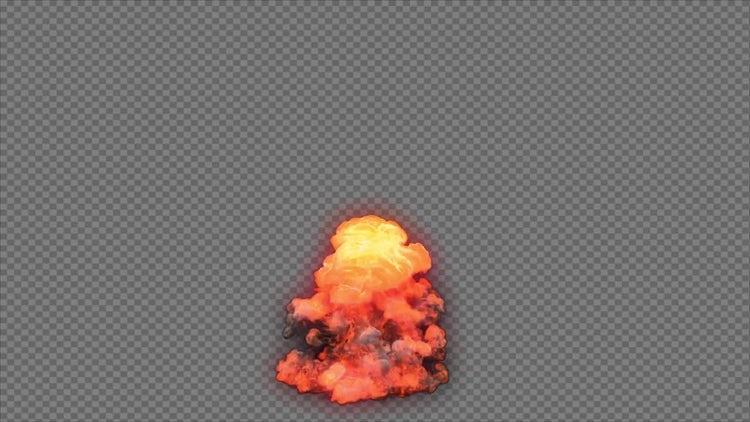 Blast Explosion 4: Stock Motion Graphics