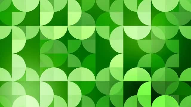 Green Pattern: Stock Motion Graphics