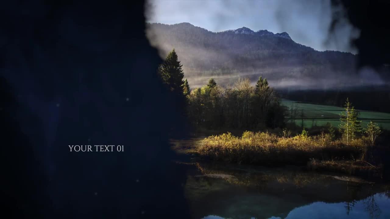 Cinematic Slideshow - Premiere Pro Templates 84365