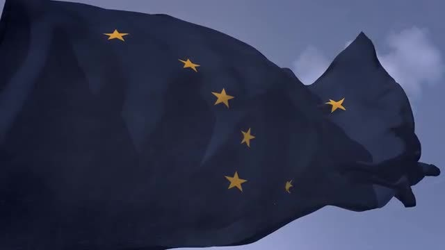 Alaska State Flag: Stock Motion Graphics