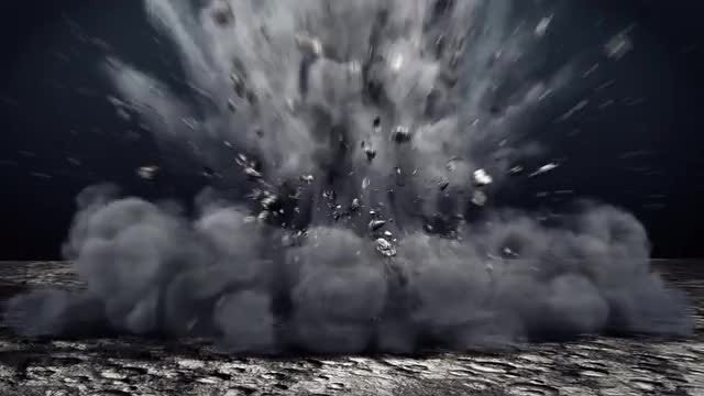 Ground Explosion: Stock Motion Graphics