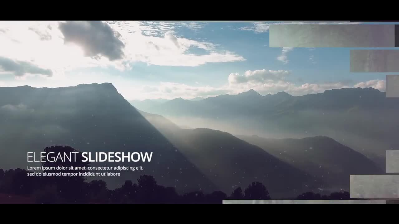 Elegant Slideshow - Premiere Pro Templates 84438