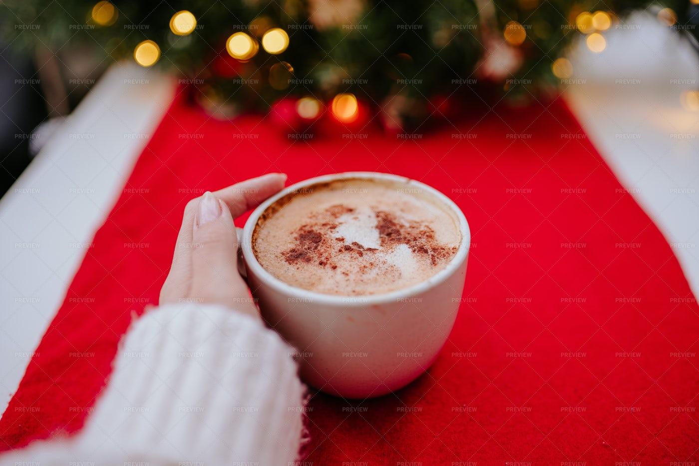Christmas Coffee: Stock Photos