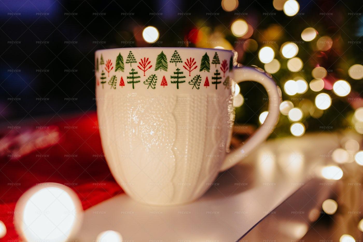 Winter Mug: Stock Photos