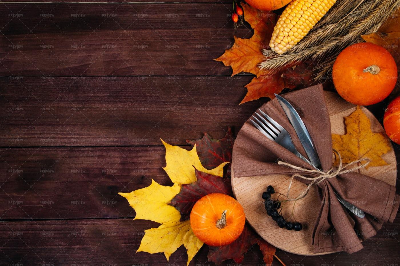 Happy Thanksgiving Day: Stock Photos