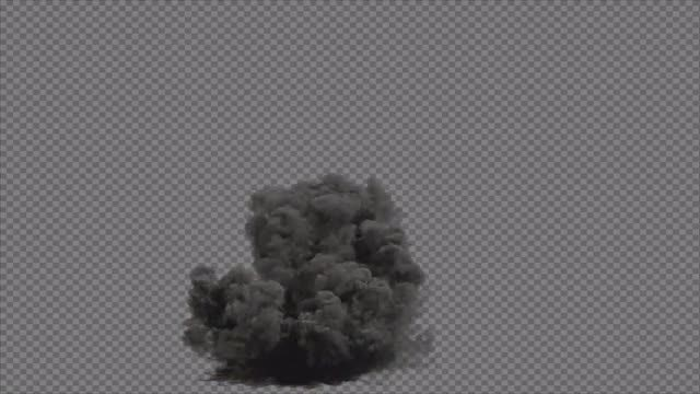 Transparent Blast Explosion : Stock Motion Graphics
